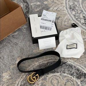 Gucci belt , size 75/30